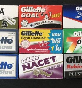 """Набор лезвий """"Gillette"""" для Т-образных станков"""