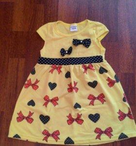 Платье до 4-х лет