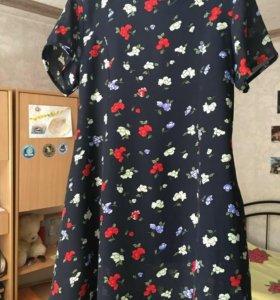 Платье Корея отл сост р48-50