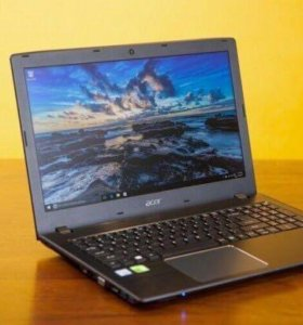 Игровой ноутбук acer E-15