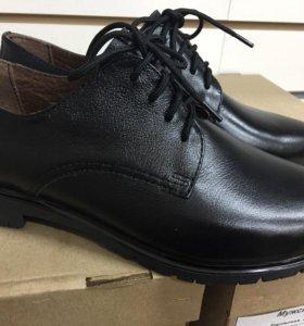 Туфли кожаные женские 36 р-р. Новые!!!