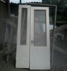 Окна 180*140-6шт., двери 220*110