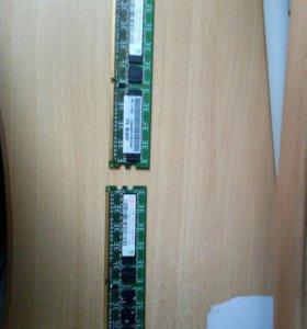 2 планки оперативной памяти