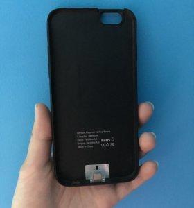 Чехол зарядка для айфона 6,6s