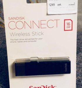 SanDisk Connect Wireless Stick 16 ГБ