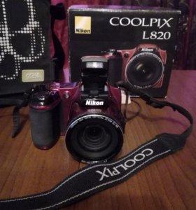 Фотоаппарат Nikon coolpix l820