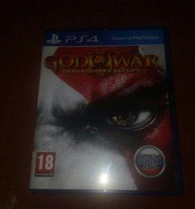 Игра God of war:Remastered для PS4