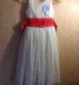 Платье детское на 6лет