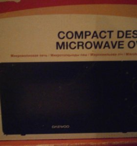 новая М/Печь DaеWoo Eco-compact чёрная!