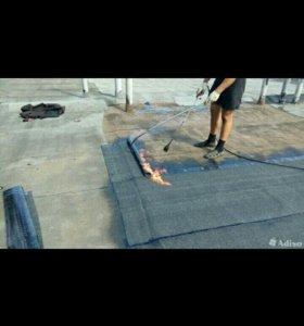 устраним протечки в крыше гаража