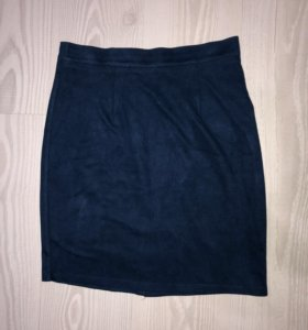 Замшевая юбка. Размер s