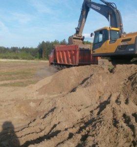 Песок щебень земля торф чернозём