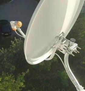 Установка,настройка спутниковых антенн