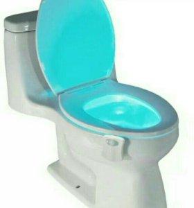 Умная подсветка в туалете