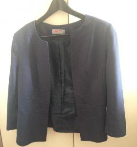 Пиджак синий 46 размера