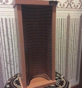 Подставка полка этажерка для дисков