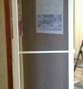 Дверь-сетка на балкон(211x62)