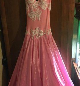 Платье для бальных танцев ю1