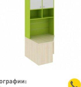Стол и шкаф - Угловая секция