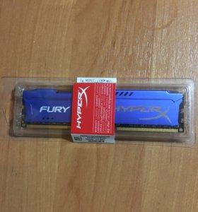 8gb Kingston HyperX Fury Blue