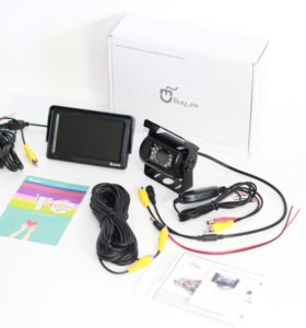 Комплект видеонаблюдения для Авто. Двухканальный
