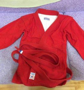 Курточка для самбо и борцовки