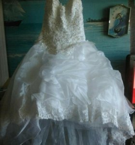 Свадебное платье двойка