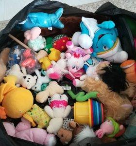 Детские игрушки разные