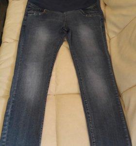 Джинсовые брюки для беременных.