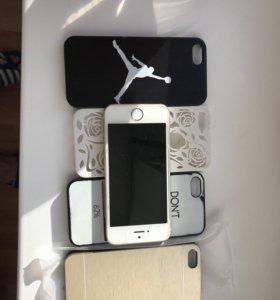Мобильный телефон сотовый iPhone 5s