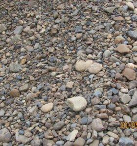 Продажа с доставкой гравий и песок