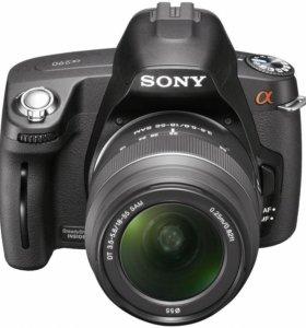 Зеркальная камера Sony alpha 390