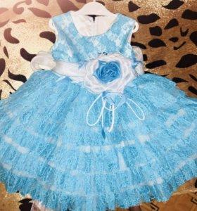 Продам платье на девочку. Рост 110-116