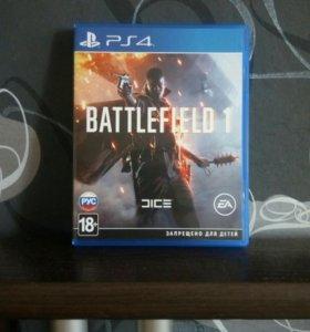 Игра на ps4/ battlefield 1