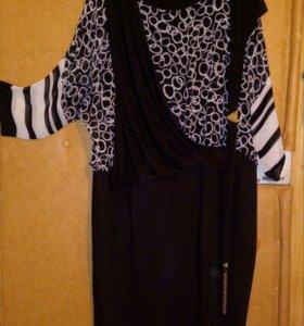 Платье р.52-54 элегантное