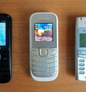 Explay A170, Samsung GT-E1200M, Sony Ericsson T105
