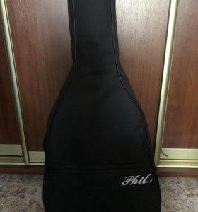Гитара для начинающих с чехлом