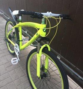 Новый  велосипед БМВ