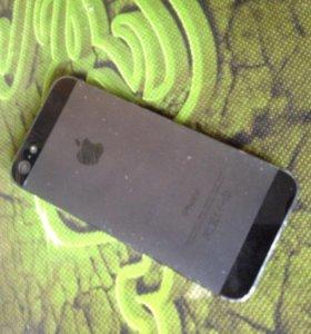Продам iPhone 5 чёрный под ремонт