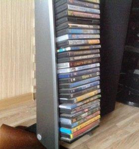 Диски и подставка для хранения дисков