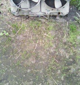 Радиатор в сборе, карина
