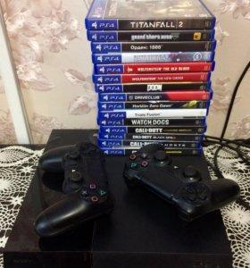 Игровая приставка Sony PS 4