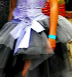 Платье-костюм на выпускной или на торжественный ве