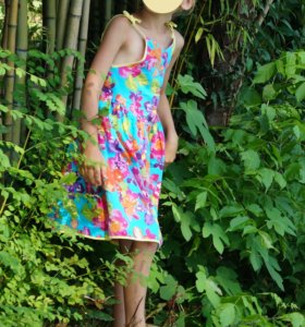 Платье сарафан на рост 116-122 красивое