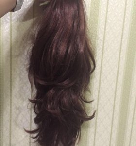 Шиньон из искусственных волос