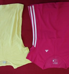 Две футболки adidas