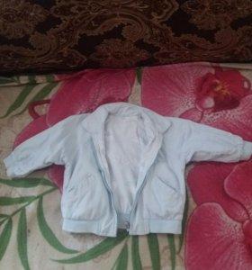 Двухсторонняя легкая курточка-ветровка