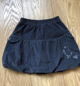 Девочкам юбки 122-128 пакет