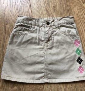 Девочкам 116-122 пакет юбки-шорты, сарафан