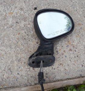 Зеркало правое механическое для Daewoo Matiz (M100
